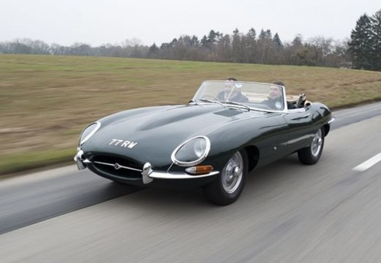 Right hand drive Jaguar