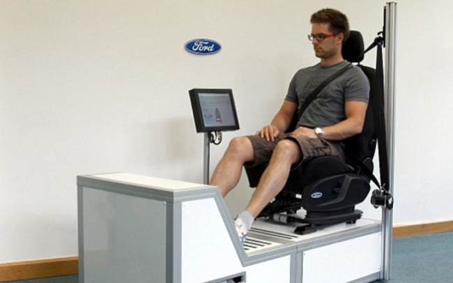Testing Fords new heart attack detecting seat