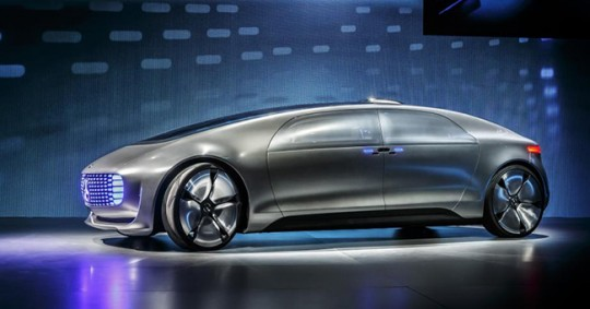 The futuristic Mercedes F 0125