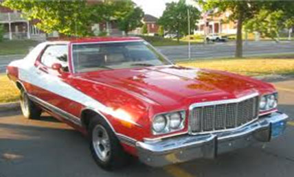 Starsky and Hutch Ford Lincoln