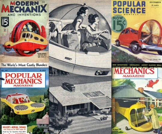 Magazine covers from the 50s