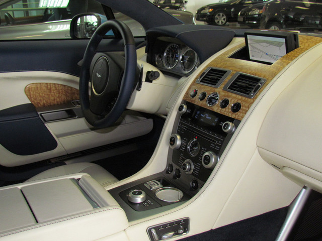 Custom Aston Martin Dashboard